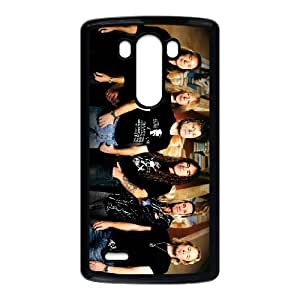 LG G3 Cell Phone Case Covers Black Iron Maiden Oqwyy