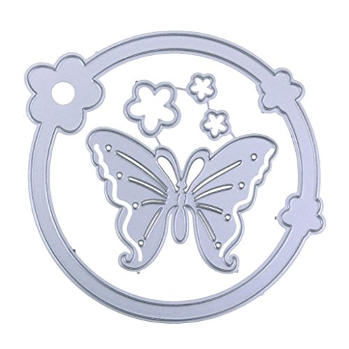 LtrottedJ New Snowflake Metal Cutting Dies ,Stencils DIY Scrapbooking Album Paper Card (F) Cabinet End Panels