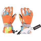 Yidomto Ski Gloves, Waterproof Warmest Winter