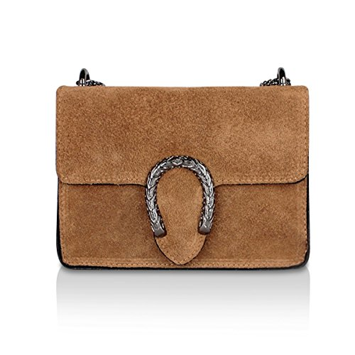 Marron Multicolore femme multicolore main Sunlike pour à Sac aA6x08z