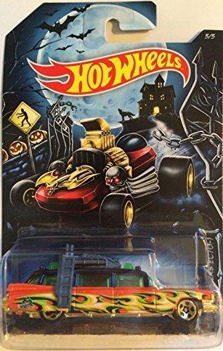 2014 Hot Wheels Halloween Exclusive [5/5] Ghostbusters Ecto-1 ()