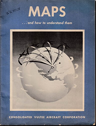(Consolidated Vultee Aircraft Maps & How to Understand Them 1943 B-24 P4Y)