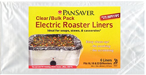 Pansaver Electric Roaster Liners Roasters