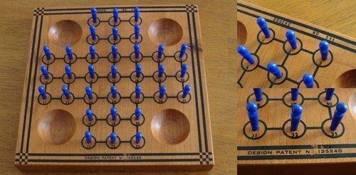 - Drueke's Wood Solitaire Game In Box