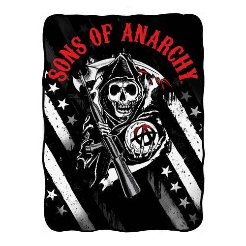 Sons of Anarchy Fleece Throw, Multicolor, 50
