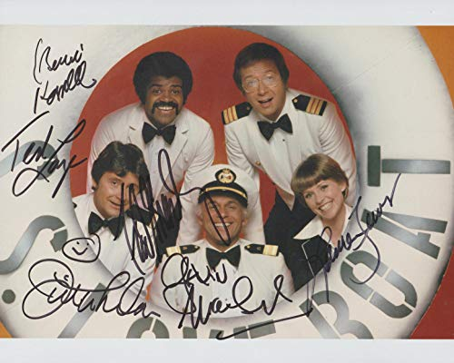 Love Boat TV show cast reprint signed autographed 8x10 photo from Loa_Autographs