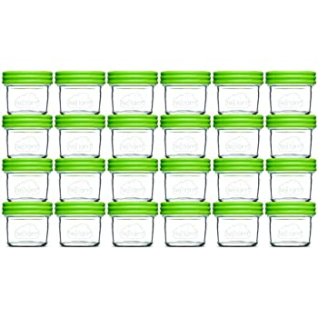 Amazon Com Glass Baby Food Storage Containers Set