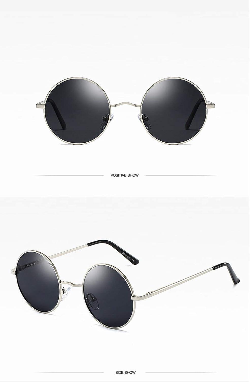 Dilunsizrf Gafas Redondas Retro Gafas De Sol De Los Años 70 ...