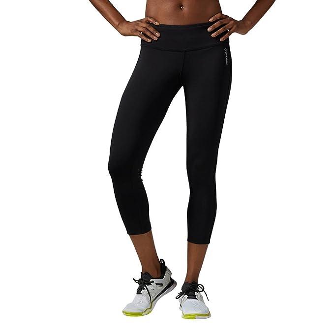 Amazon.com: Reebok Womens Workout Ady PP 34 LR Capri: Clothing