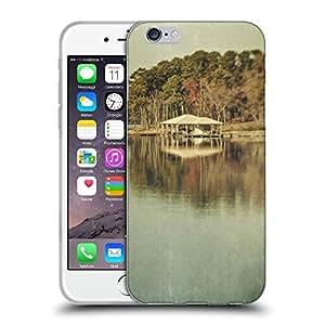 """Super Galaxy Coque de Protection TPU Silicone Case pour // F00002500 orilla del lago de invierno // Apple iPhone 6 4.7"""""""