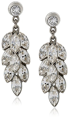 Ben Amun Dangling Earrings - Ben-Amun Jewelry Clear Drop Earrings