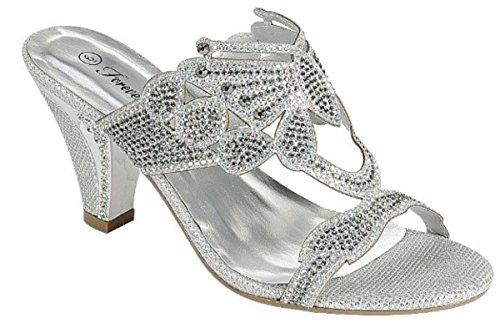 Womens Sandals Sandal Pro (Women's Glitters Rhinestones Wedge Heel Peep Toe Dressy Prom Delicacy Sandal Shoes)