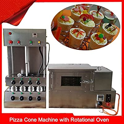 Eléctrico Pizza cono Panificadora Moldeador de Pizza con Pizza ...