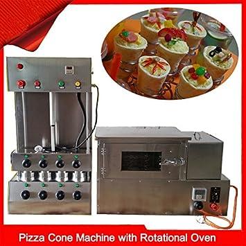 Eléctrico Pizza cono Panificadora Moldeador de Pizza con Pizza horno de rotación 110 V/220 V: Amazon.es: Hogar