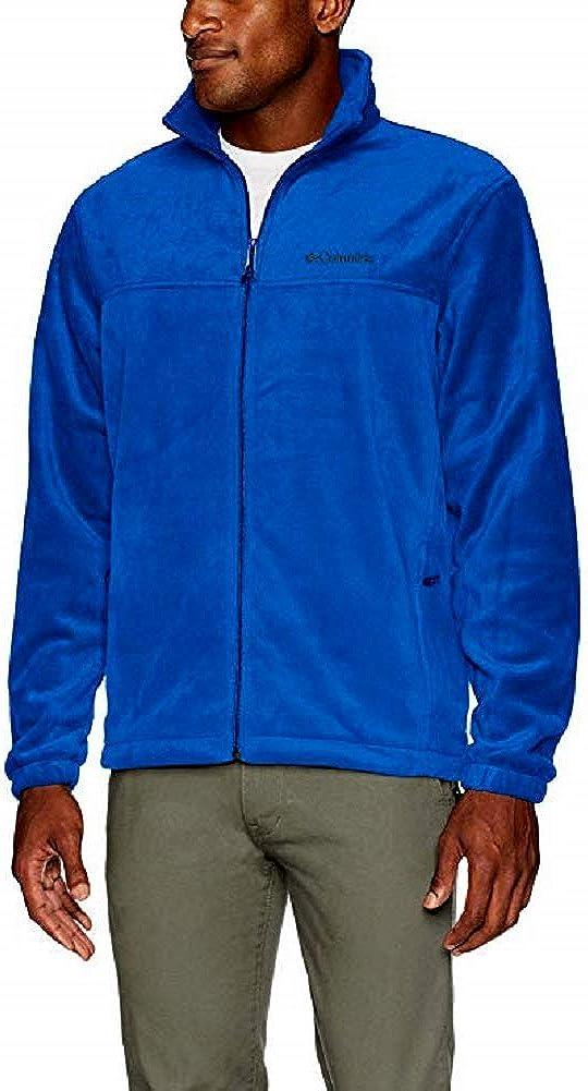 Blue X-Large Columbia Mens Mount Grant Full Zip Fleece