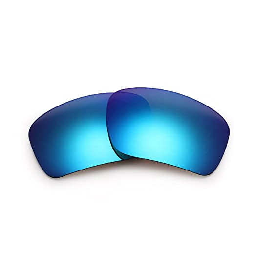 99824bbc6c4 Replacement Sunglasses Lenses for Oakley Men s Triggerman Polarized  Rectangular Blue 06