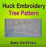 Huck Embroidery Tree Towel