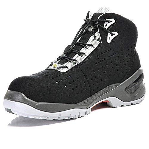 Elten 76245-43 - Formato 43 calzatura di sicurezza impulso grigio medio esd s1 - multicolore