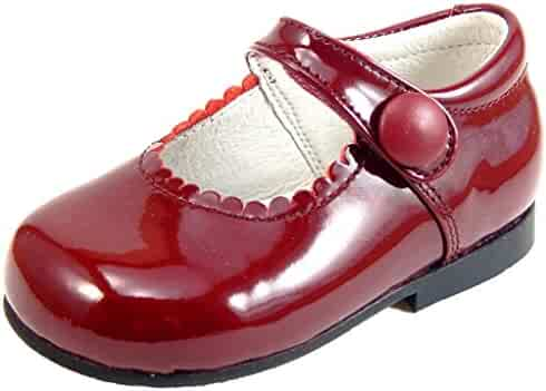 De Osu - Girls  Patent Leather Dress Shoes K-5327 (Infant Toddler 2a0afb319d4