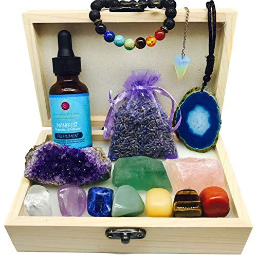 Tesh Care Chakra Crystals 15 pc Fulfillment set,3 Healing...
