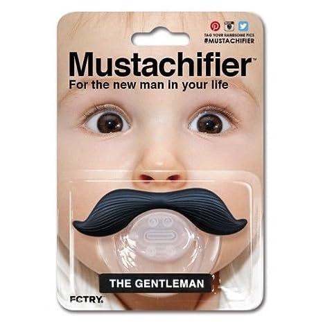 Amazon.com: Mustachifier bebé bebé chupete la Cowboy el ...