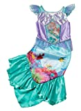 Offically licensed Disney Princess Ariel fancy dress Girls Little Mermaid Costume Age 7-8 Years with Magic 3D Changing Picture Bodice. Made under licence from Disney Princess for the TU Collection