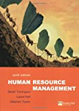 Human Resource Management, Derek Torrington and Laura Hall, 0273687131