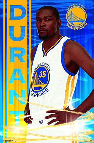 (Trends International Golden State Warriors-Kevin Durant Premium Wall Poster, 22.375