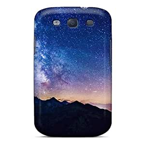 New Style Tpu S3 Protective Case Cover/ Galaxy Case - Milky Way Mountains