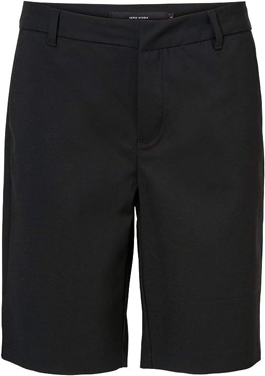 Image of Vero Moda Vmleah Mr Classic Long Shorts Pantalones Cortos para Mujer