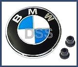 bmw 2001 emblem - BMW e46 CONVERTIBLES rear decklid Trunk Emblem roundel deck lid badge insignia logo ornament