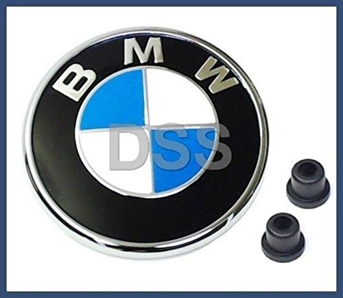 Emblems Rear Roundel - BMW e46 CONVERTIBLES rear decklid Trunk Emblem roundel deck lid badge insignia logo ornament