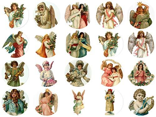 (Victorian Vintage Angel 1 1/2