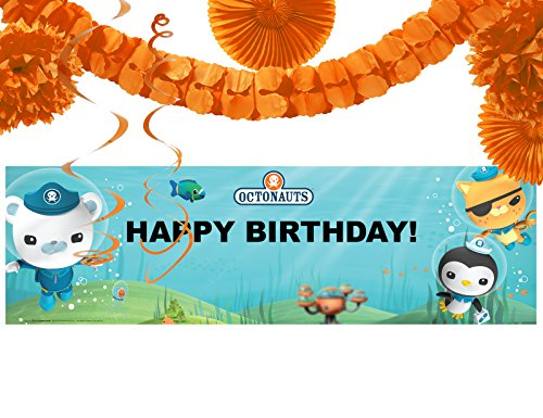 Octonauts Party Supplies - Birthday Party Banner Decoration