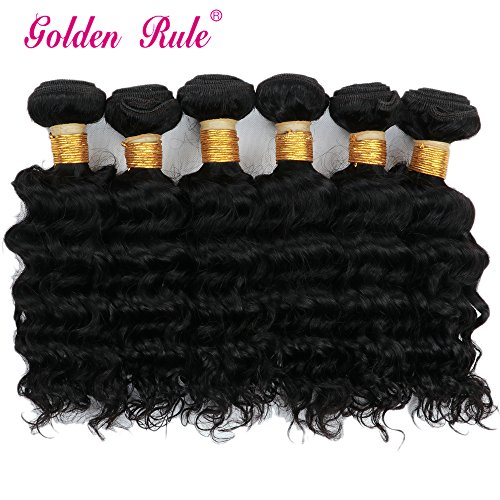 Golden Rule Unprocessed Brazilian Virgin Human Hair Remy hair 10