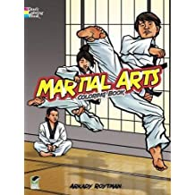 Martial Arts Coloring Book (Dover Coloring Books)
