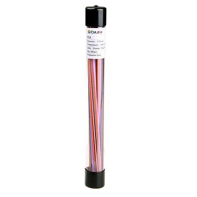 3d Pen PLA Fillament Multicolore Lot Recharges (100)–Orange, Rose, Violet, Marron, Gris