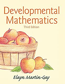 Developmental mathematics textbook author 9781932628838 amazon developmental mathematics 3rd edition fandeluxe Image collections