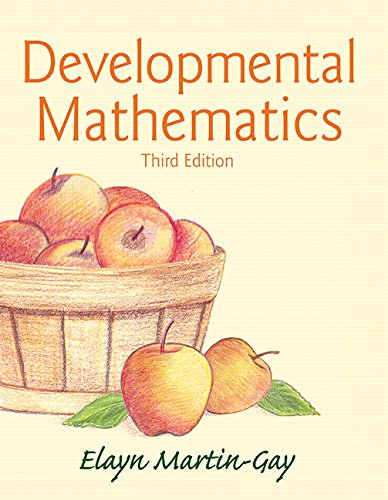 Developmental Mathematics (3rd Edition)