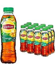 Lipton Mango Ice Tea een heerlijk verfrissende ijsthee - 12 flessen - 500ML - Voordeelverpakking