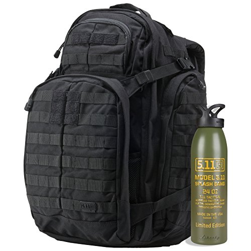 5.11 Tactical Rush 72 Backpack with Green Splash Bang Alumin