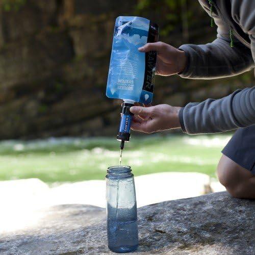 Housse de Protection de Protection Thermique Noire Kit d/'Hiver Sawyer Mini Filtre /à Eau Bleu