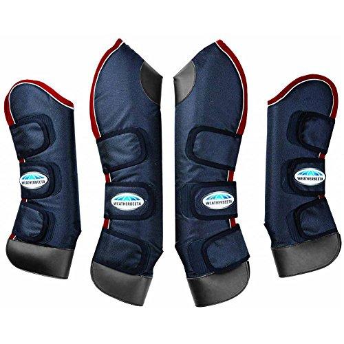 Weatherbeeta Deluxe Travel Boot Cob navy/red/white by Weatherbeeta