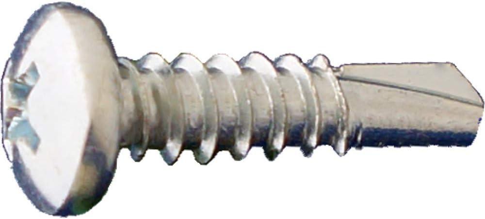 #6 x 5//8 Daggerz Phillips Pan Head Self Drill Screws Zinc 10000ct