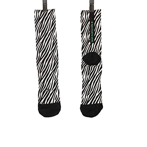 Shebeest : Womens Clothing - Shebeest 2018 Women's Short Marty Cycling Socks - 3657-MY (Marty-Black/White - S/M)