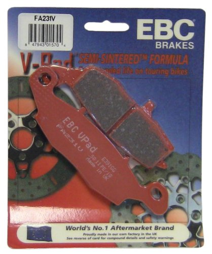 EBC Brakes FA231V Semi Sintered Disc Brake Pad