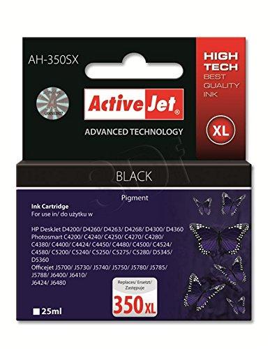 ActiveJet AH-350SX 25ml Pigmento negro cartucho de tinta ...