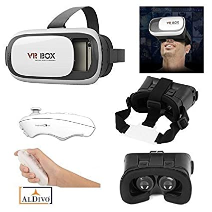 ALDIVO Virtual Reality Headset 3D Glasses Version 2.0  Amazon.in   Electronics d68131918a