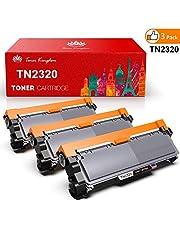 Toner Kingdom Cartucho de tóner Compatible Brother TN2320 para su Uso en Brother HL-L2300D HL-L2320D