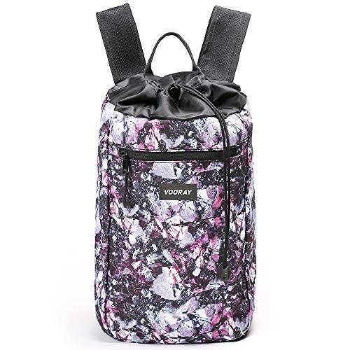 (Vooray Stride 16L Cinch Drawstring Backpack (Metallic Gem) )